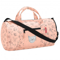 Сумка детская складная 38 см Dufflebag S cats and dogs Reisenthel \ IH3064