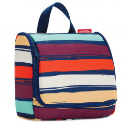Сумка-органайзер 23 см Toiletbag artist stripes Reisenthel \ WH3058
