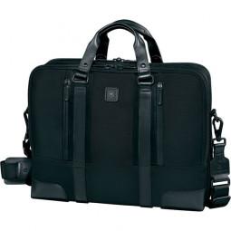 Портфель Lexicon Professional LaSalle 15.6'' 40х29 см нейлон/кожа наппа черный Бизнес-коллекция Victorinox \ 601112