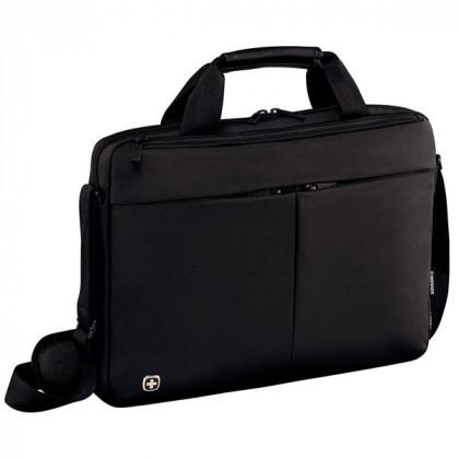 """Портфель Format с отделением для ноутбука 14"""" 39 см нейлон/ПВХ черный Wenger \ 601079"""