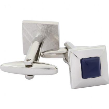Запонки c темно-синим камнем Gran Carro Gemelli \ GC6123500