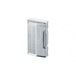 Турбозажигалка Caran d' Ache Rhodium Chevron \ CD01-1004
