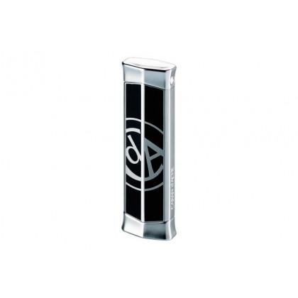 Турбозажигалка Caran d' Ache Rhodium w/CARAN d` ACHE Logo Black \ CD02-2006