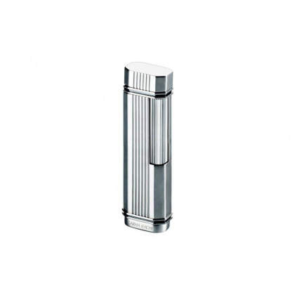 Зажигалка Caran d' Ache Dia cut vertical line/palladium \ CD03-3001