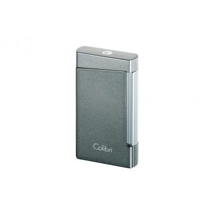 Зажигалка Colibri VOYAGER anthracite grey met \ CB LI400D002