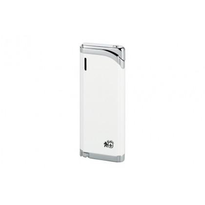 Зажигалка Colibri Debonair III White Lacquer /polished silver \ CB LTR-028114E