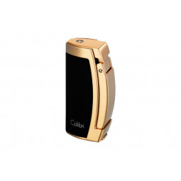 Зажигалка Colibri Enterprise III black/ brushed rose gold \ CB QTR-115006