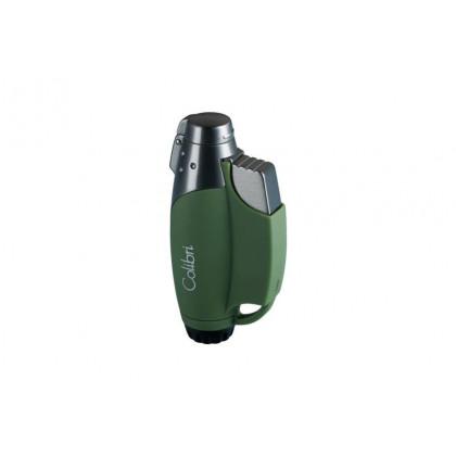 Зажигалка Colibri Jet II green \ CB QTR-752009