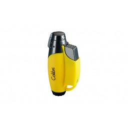 Зажигалка Colibri Jet II yellow \ CB QTR-752011