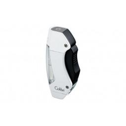 Зажигалка Colibri Maui white lacquer/black \ CB QTR-244012