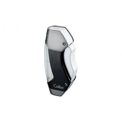 Зажигалка Colibri Maui black lacquer/chrome \ CB QTR-244016
