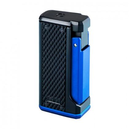 Подарочный набор зажигалка Colibri Monza III и пробойник синий \ CB T10055GS