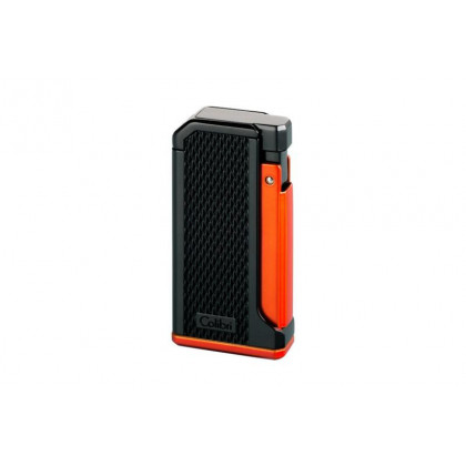 Зажигалка Colibri Monza I matte black and anodized orange / pachmayr grip \ CB LI-200T008