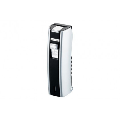 Зажигалка Colibri M-Stick matte black/ satin silver \ CB QTR-213001E