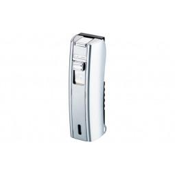Зажигалка Colibri M-Stick satin pearl / brushed silver \ CB QTR-213002E
