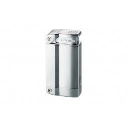 Зажигалка Colibri 2240 satin silver / polished silver \ CB QTR-224002E