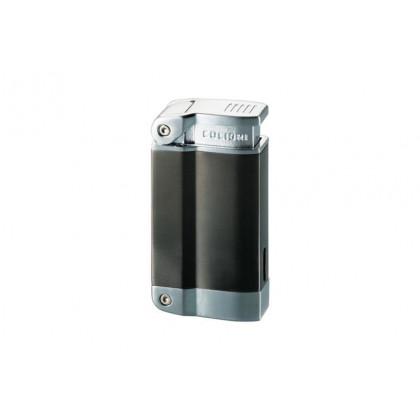 Зажигалка Colibri 2240 satin silver / satin gun \ CB QTR-224003E