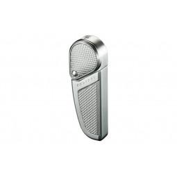 Зажигалка Colibri Revolution Satin Silver / Satin Silver Accent \ CB QTR-397002E
