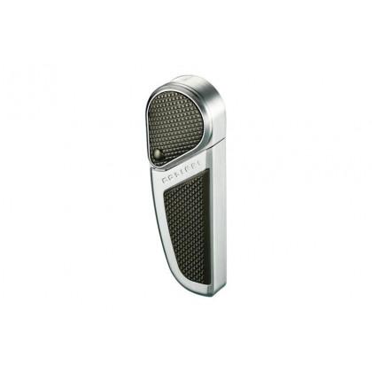 Зажигалка Colibri Revolution Satin Silver / Gun metal Accent \ CB QTR-397004E