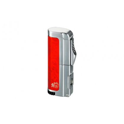 Зажигалка Colibri Paradigm Burl Lacquer / Satin Silver \ CB QTR-417004Е