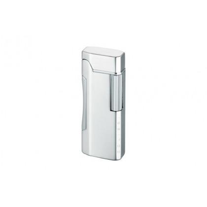 Зажигалка Colibri Primo Satin Silver / Polished Silver \ CB QTR-600002E