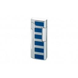 Зажигалка Colibri Primo Satin Silver / Blue Accent \ CB QTR-600004E