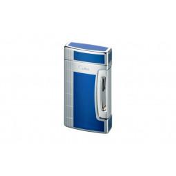 Зажигалка Colibri Flint Jet Blue Lacquer/ Silver \ CB QTR-661003E