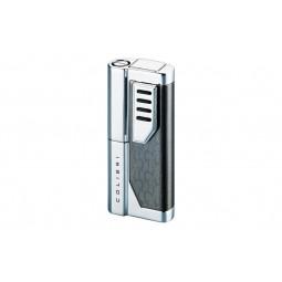 Зажигалка Colibri Oscar II Gun Tattoo / polished silver \ CB QTR-951101E