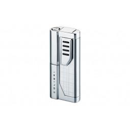 Зажигалка Colibri Oscar II Silver Plaid / polished silver \ CB QTR-951104E