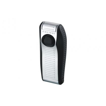 Зажигалка Colibri VENOM matte black / silver satin \ CB QTR-999001E