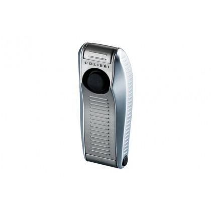 Зажигалка Colibri VENOM satin silver / satin gunmet \ CB QTR-999003E