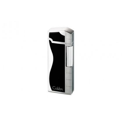 Зажигалка Colibri Jazz Black / Silver \ CB FTR-361001E