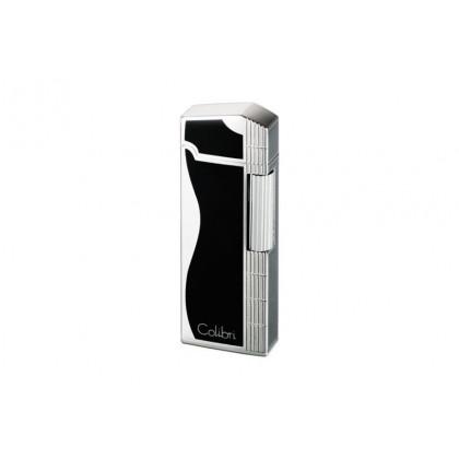 Зажигалка Colibri Jazz Black / Silver \ CB FTR-361002E