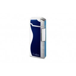 Зажигалка Colibri Jazz Blue / Silver \ CB FTR-361003E