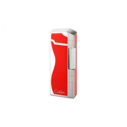 Зажигалка Colibri Jazz Red / Silver \ CB FTR-361004E