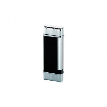 Зажигалка Colibri Regal Black Lacquer w/Chrome \ CB FTR-640001E