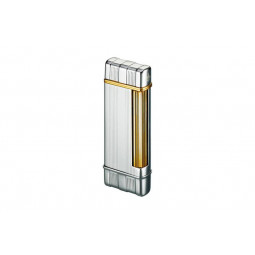 Зажигалка Colibri Polished Chrome w/Gold \ CB FTR-640003E