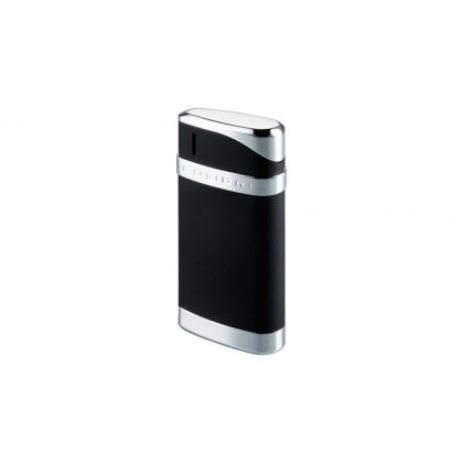 Зажигалка Colibri Essex Matte black / polished silver \ CB LTR-078001E