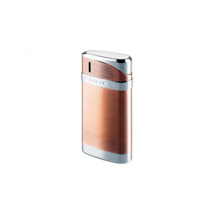 Зажигалка Colibri Essex Satin copper / polished silver \ CB LTR-078004E