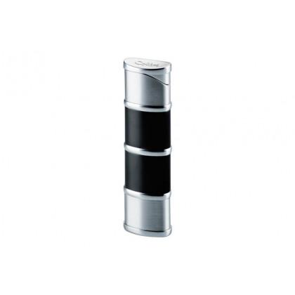 Зажигалка Colibri Ladies Reactor Black Silver \ CB LTR-085101E