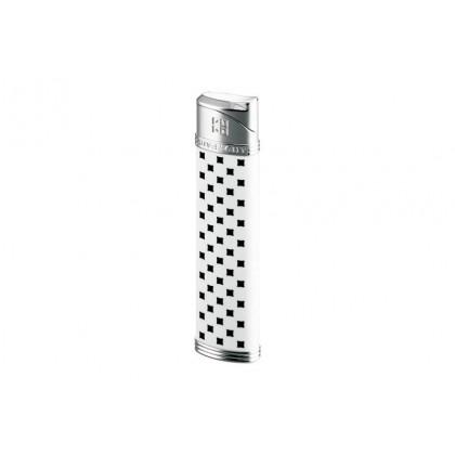 Зажигалка Givenchy DIA-SILVER, WHITE LACQUER \ GV 2808