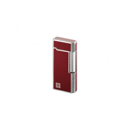 Зажигалка Givenchy DIA-SILVER, RED LACQUER \ GV 3015