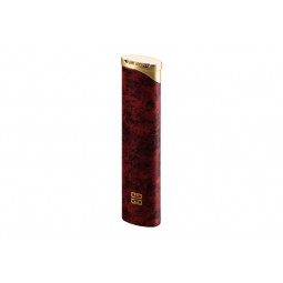 Зажигалка Givenchy GOLD TOP, RED MARBLE LACQUER \ GV 3206