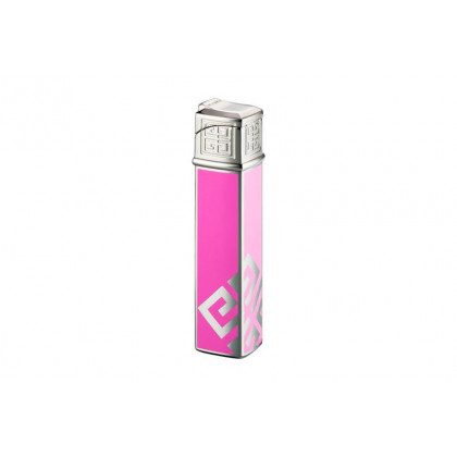 Зажигалка Givenchy Dia silver Pink Lacquer \ GV G16-1621