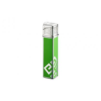 Зажигалка Givenchy Dia silver Green Lacquer \ GV G16-1622