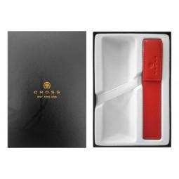 Набор Cross: красный чехол для ручки в коробке с местом под ручку \ GWP47-2