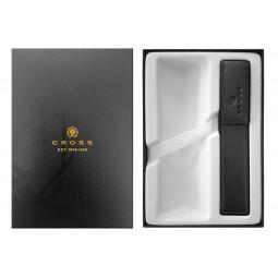 Набор Cross: черный чехол для ручки в коробке с местом под ручку \ GWP47-1