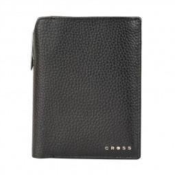 Бумажник для документов Cross Hudson Black, с ручкой Cross, черный \ ACC1495_2-1