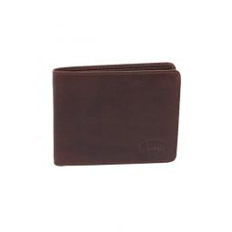 Бумажник Klondike Digger «Amos» в темно-коричневом цвете \ KD1042-03