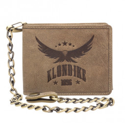 Бумажник Klondike «Happy Eagle» в коричневом цвете \ KD1013-02